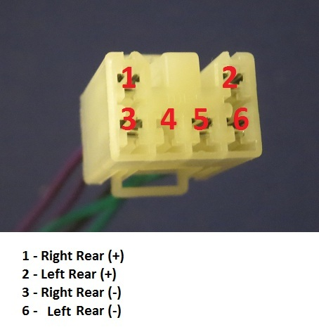 Subaru Connector Diagram