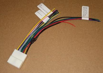 707552-1_thumb  Pin Wiring Harness Nissan Audio on